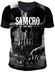 Sons of Anarchy - T-Shirt - Uni - Col Rond - Homme