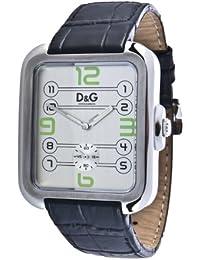 D&G Dolce&Gabbana Herren-Armbanduhr Analog Quarz Leder DW0187