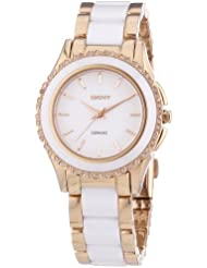 DKNY Damen-Armbanduhr Analog Quarz Keramik NY8821