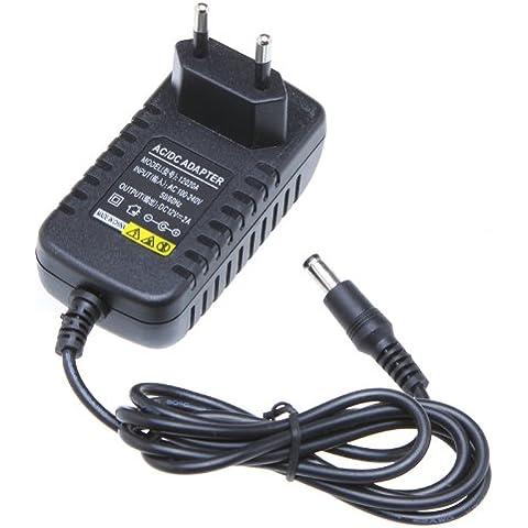 Lixada Adattatore di alimentazione per Strisce LED ,AC 100-240V a