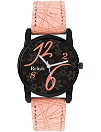 Relish Analog Black Dial Watches for Girls & Women RE-L086PB