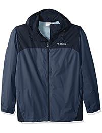 Columbia Men's Big and Glennaker Lake Packable Rain Jacket, Dark Mountain, Collegiate Navy, 3X Tall