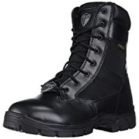 Skechers Men's Wascana-Athas Military and Tactical Boot, Black, 7.5 W US