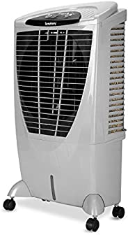 Symphony Winter+ Powerful Desert Air Cooler 56-litres, Air Fan, 4-Side Cooling Pads, Whisper-Quiet Performance