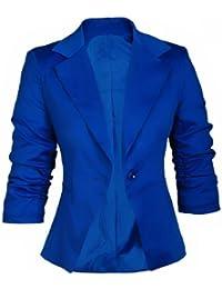 suchergebnis auf f r damen blazer blau bekleidung. Black Bedroom Furniture Sets. Home Design Ideas