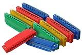 Classic Cantabile FunKids Harmonica Enfants SET de 10