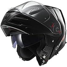 LS2 503241012L FF324 Casco Metro Solid, Color Negro, Tamaño L