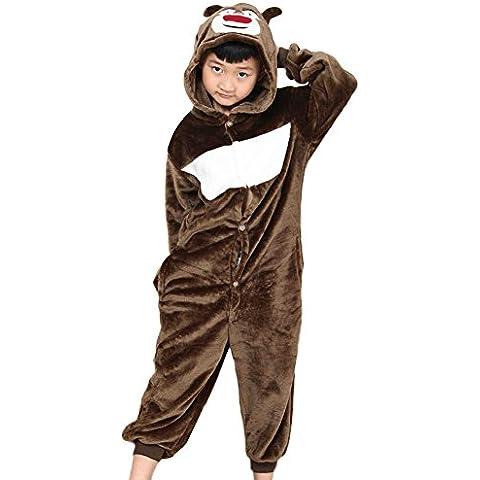 JT-Amigo - Pigiama Tutina Costume Animale - Bambina e