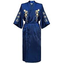 kimono japonais pour hommeavec dragon brodé