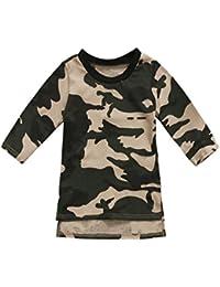 Wide.ling - Vestido - Camisa - para bebé niña