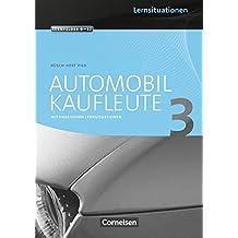 Automobilkaufleute: Band 3: Lernfelder 9-12 - Arbeitsbuch mit englischen Lernsituationen