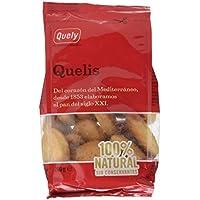 Quely, Crackers salado de agua (Quelis) - 10 de 200 gr. (Total 2000 gr.)