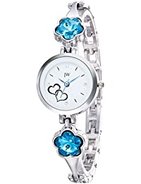 JW White Dial Analog Watch For Girls Women's Watch Girls Watches Womens Watches