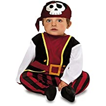 My Other Me - Disfraz de bebé pirata para niño, 7-12 meses (Viving Costumes 200567)