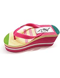 Angel Fashion Premium Quality Beautiful Colorful Wedges Women Footwear For Casual Or Daily Wear