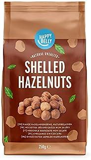 Amazon Brand - Happy Belly Shelled Hazelnuts 6x250g