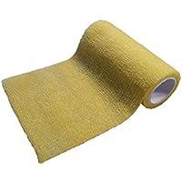 Figo Bandage elastische selbsthaftende Haftbandage 10 cm x 2 m Gelb preisvergleich bei billige-tabletten.eu