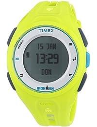 Timex Timex® Ironman® Run x20 GPS TW5K87500 - Reloj para hombres, correa de plástico color verde