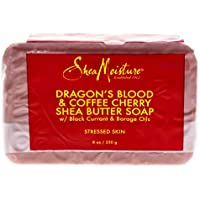 Shea Moisture Dragon S Blood & Coffee Cherry Shea Butter Soap Stressed Skin