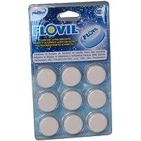 Flovil–Floculante en pastillas para piscinas, para un agua más limpia y cristalina