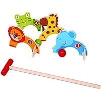 M.Y Juegos al aire libre - Animal Croquet - Juegos al aire libre para niños