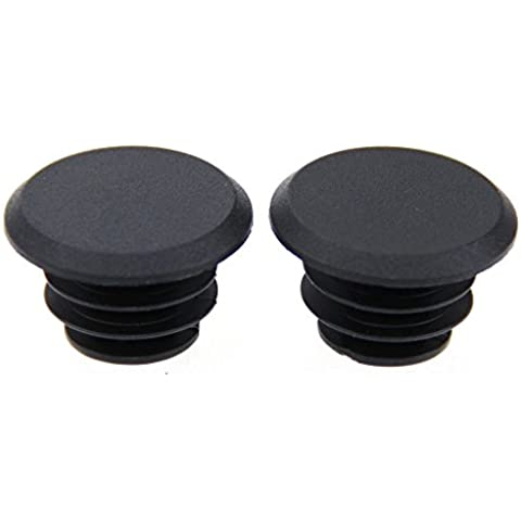 2x Handlebar Bar End Plugs Caps ATB MTB Bungs fr Bike Bicycle Cycle Camera Grip by HDVATE