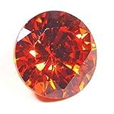 Urancia® Excellent Shining Gem Stone Red Zircon Lal Zircon Uparatna Stone Baikrantamoni Zargun Jarkan Stone 6.5 Cts Lab Certified For Ring Locket Pendant