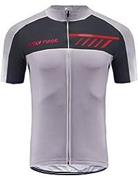 Uglyfrog #18-01 Bike Wear Ciclismo Hombres Maillots Seco y Transpirable de Bicicleta Conjunto