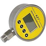 XZT Digital hidráulico medidor de presión 100mm 700bar/10000psi-1/2bsp-base entrada