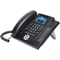 Auerswald COMfortel 1400 - Teléfono (Teléfono analógico, Altavoz, 1600 entradas, Identificador de llamadas, Negro)
