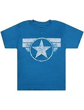Marvel Cap Logo, Camiseta para Niños