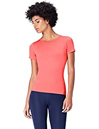 Activewear - Mesh Panel Workout, Maglia sportiva Donna