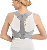 Conbo Back braces Posture Corrector Adjustable Back Shoulder Spinal Support Belts for Men Women, Physical Therapy Brace...