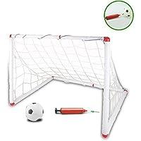 Jouet de Football But Cage de Foot Portables avec un Mini Football pour les 3+
