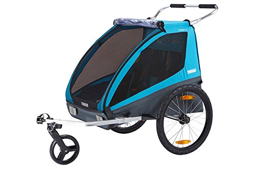 Thule Coaster XT, Kinder- Fahrradanhänger 2017, Blau