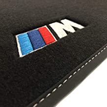 Velours schwarz Fußmatten passend für BMW 1er E81 E87 3+5-türig