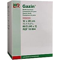 Gazin Mullkompressen 10x20 cm Steril 12fach, 40X2 St preisvergleich bei billige-tabletten.eu