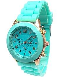 Sannysis® barato de silicona banda reloj de pulsera (H)