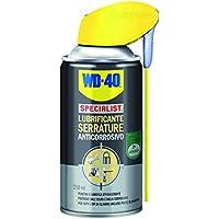 WD-40 SPECIALIST - Lubrificante Serrature Spray Anticorrosivo con Sistema Doppia Posizione - 250 ml