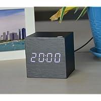 YIREN-Student kreative Holz, 10 cm, 12 cm, 15 cm, quadratisch schwarz Holz preisvergleich bei billige-tabletten.eu
