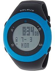 Soleus GPS Fly Watch Calorie Tracker-Black/Blue SG012-045
