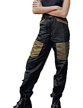 Juleya Cargo Pants Women Long Trousers Pantalones de cintura alta Joggers Streetwear