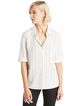 LILYSILK Camisa Mujer de Seda Mangas Cortas - Blusa Super Cómodo y Transpirable de Seda 18MM