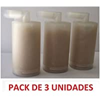Filtros Antical 3 unidades para Centros de Planchado JRD Mx Onda AEG, Clatronic, Bomman