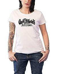 Gas Monkey Garage T Shirt Richard Rawlings Nuevo Oficial De Las Mujeres Skinny