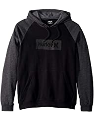 Hurley M One&Only Box 2.0 Pullover Sudaderas, Hombre, Black Heather, L
