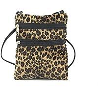 e9ba2be7e1 Loni Funky Small Flat Shoulder Bag Cross-Body Bag Animal Print Velour Bag