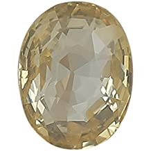 100% Natural Yellow Sapphire (Pukhraj/Guru) Certified Astrological Gemstone (3.46 CTS)