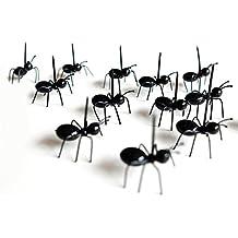 Sunlera 12 pcs / set Mini fourmi fourche fourchette Eco cuisine en plastique cuisine fourche choix pour Bar Party