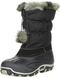Kinder Mädchen Winterstiefel Snowboots Vista Canada POLAR schwarz